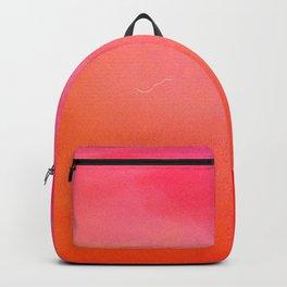 PinkOrange Gradient Backpack