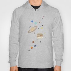 The Solar System - Planets, Moons, and Dwarf Planets Hoody