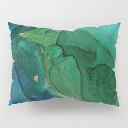 Ocean gold Pillow Sham