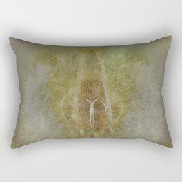 Teasel and Tickseed Rectangular Pillow