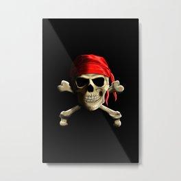 The Jolly Roger Metal Print
