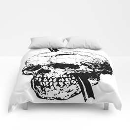 The Skull of Phineas Gage Vintage Illustration Comforters
