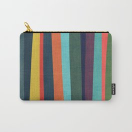Mid-century zebra Carry-All Pouch