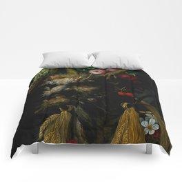 "Giuseppe Arcimboldo ""Four Seasons in One Head"" Comforters"