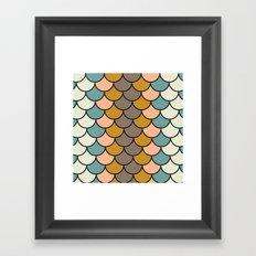 Autumn Chirp Framed Art Print
