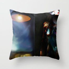 The Energy Throw Pillow