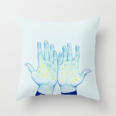 Stars III Throw Pillow