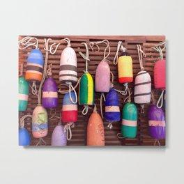 Colorful bouys Metal Print