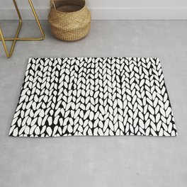 Hand Knitted Loops Rug