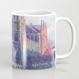 Notre Dame, Paris, France Masterpiece by Maximilian Luce Coffee Mug