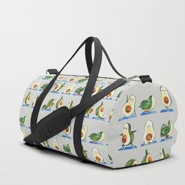 Avocado Yoga Watercolor Duffle Bag
