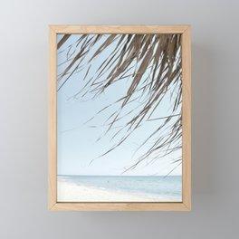 Beach spirit Framed Mini Art Print