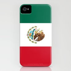 Flag of Mexico iPhone (4, 4s) Slim Case