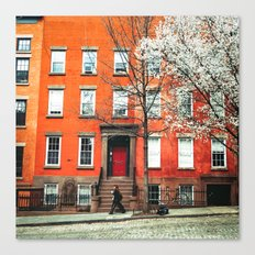 Brooklyn in the Springtime Canvas Print