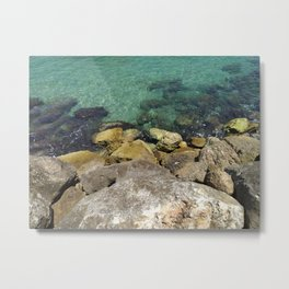 Sea ​​View Metal Print