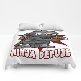 NINJA DEFUSE Pro Gamer Gaming Bomb CS Go Terrorist Comforters