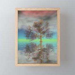 strange light somewhere -20- Framed Mini Art Print