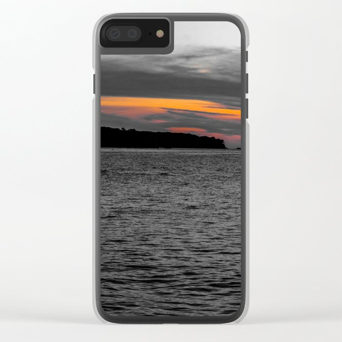 Color Blind Clear iPhone Case