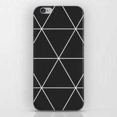 blackout triangles iPhone & iPod Skin