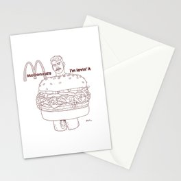 BURGER BOI Stationery Cards