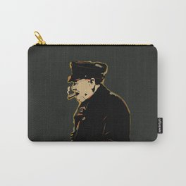 Winston Churchill Pop Art Quote Carry-All Pouch