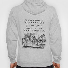 You're entirely bonkers Hoody