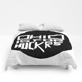 Ohio is for Huckrs Comforters