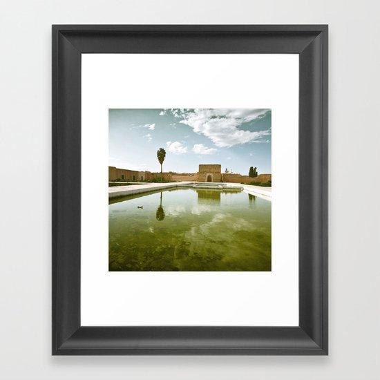 El Badi. Framed Art Print