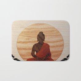 Buddha marquetry Bath Mat