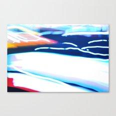 Velocity 101 Canvas Print