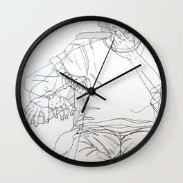 Snipped Wall Clock