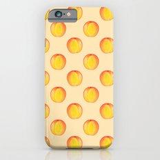 Peach Watercolor Fruit Painting iPhone 6s Slim Case