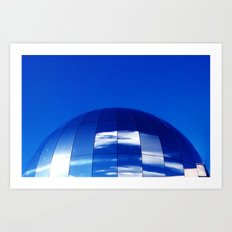 The Blue Planet Art Print