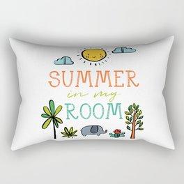 Summer in my Room Rectangular Pillow