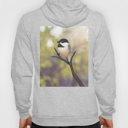 Ellery the black-capped chickadee Hoody