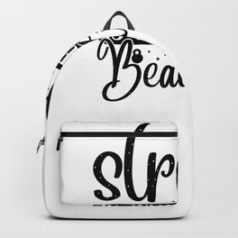 Gym Design Strong is the New Beautiful Backpack
