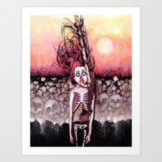 Partially Dreaming Art Print
