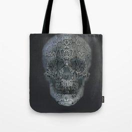 Snake Skull Tote Bag