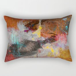 catch the shape Rectangular Pillow