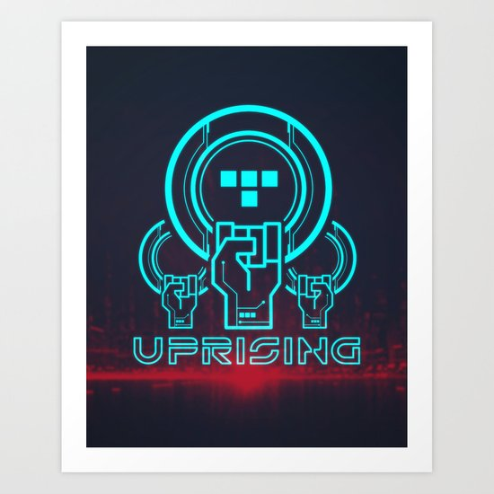 Uprising  Art Print