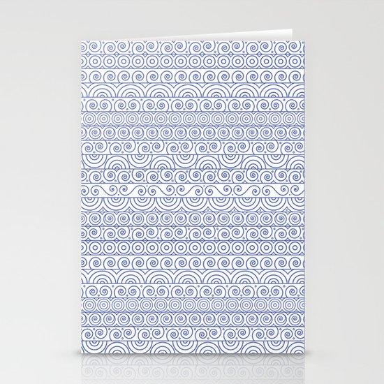 Circles & Curls Craze Stationery Cards