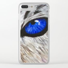 The Eyes Have it! Clear iPhone Case