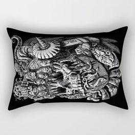 Mictlantecuhtli Rectangular Pillow