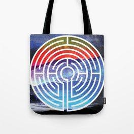Transformative Labyrinth of Sound Tote Bag
