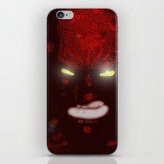 The Bloodhawk Stalks The Night iPhone & iPod Skin