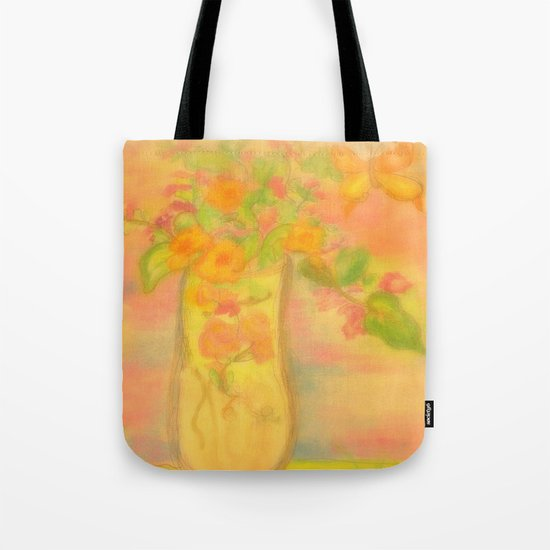 Spring Awaits~Painting the day away Tote Bag