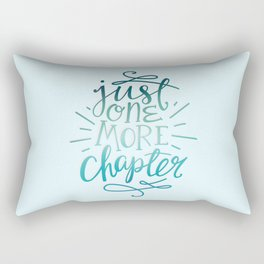 Book Worm One More Chapter Rectangular Pillow