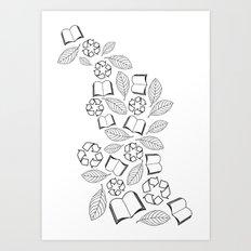 recycle reuse Art Print