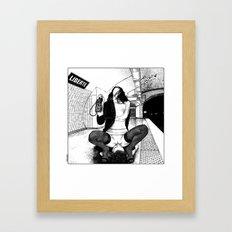 asc 589 - Une Américaine à Paris (My 4th of July in Paris) Framed Art Print