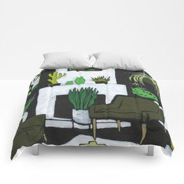 The Green Room Comforters